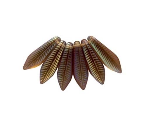 Dagger-5x16mm, black diamond mat, feather - AB