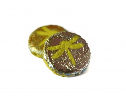 vážka - olivová, hrubý RN