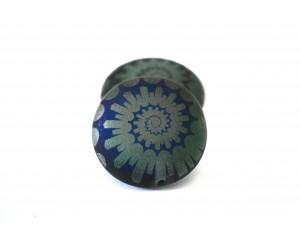 mušle - zelená mat, AZ