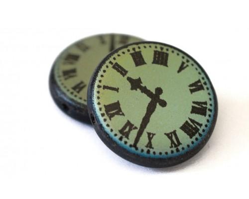 Kolečko 15mm, černá mat - hodiny