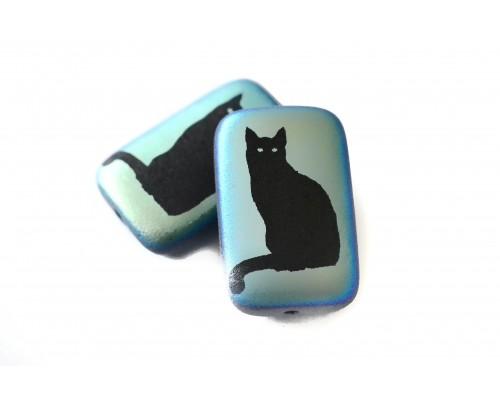 kočka - černá mat, AB