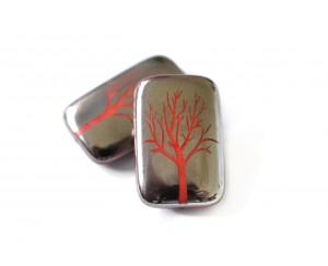 strom - červená, CHROM