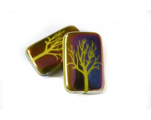 strom - sytě olivová, RN